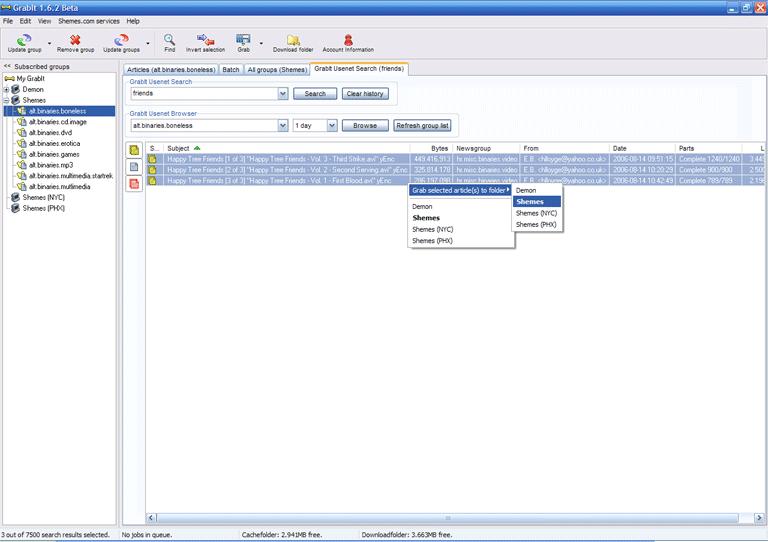 GrabIt v1.7.1 Beta Screenshot
